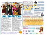 Amazing Saints Activity Page - November 1 - All Saints Day