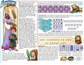 Amazing Saints Activity Page - November - St. Elizabeth of Hungary