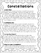 Amazing Space--Constellations Reading Activity