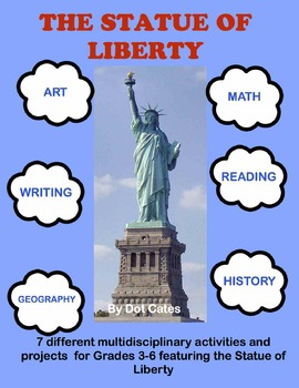 Amazing Statue of Liberty:  7 Multidisciplinary Activities & Centers for Gr. 3-6