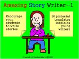 Amazing Story Writer - 1: Teach Creative Writing Skills Templates Worksheets 2-5