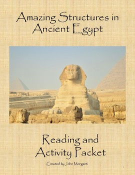 Amazing Structures in Ancient Egypt Reading and Activity Packet