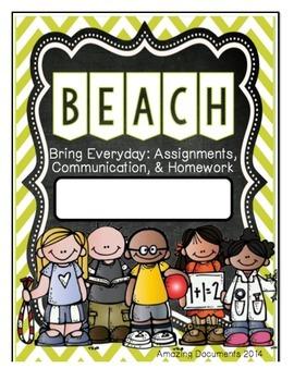 Amazing Student Communication Folder - Cover Sheets
