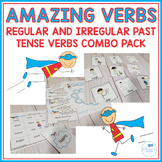 Amazing Verbs - Regular and Irregular Past Tense Verbs Combo