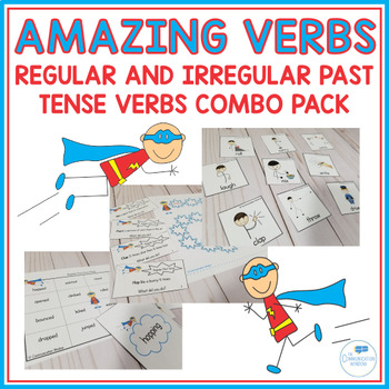 Amazing Verbs - Regular and Irregular Past Tense Verbs Combo