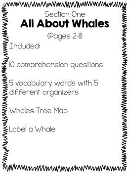 Amazing Whales Companion Literacy Unit