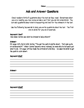 The Impossible Pet Show Supplemental Worksheet McGraw Hill Wonders