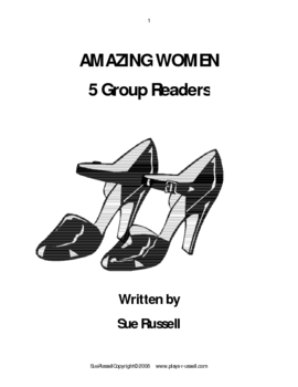 Amazing Women Guided Reading, Group Readers or Readers Theater