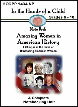 Amazing Women in American History: A Thematic Unit