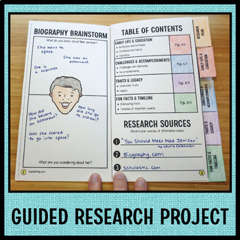 Amazing Women in History Biography Research Projects SET