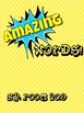 Amazing Word Make Your Own Book