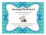 Amazing Words Reading Street 2013 2nd Grade Unit 1