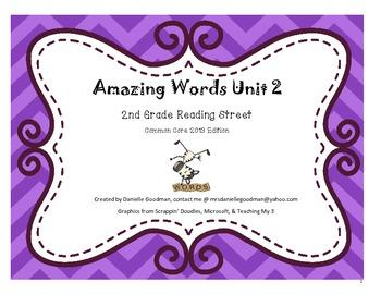 Amazing Words Reading Street 2013 2nd Grade Unit 2