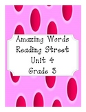 Reading Street Amazing Words Unit 4-Grade 3 (Pink Polka Dot)