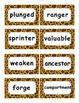 Reading Street Amazing Words Unit 4-Grade 3 (Giraffe Print)