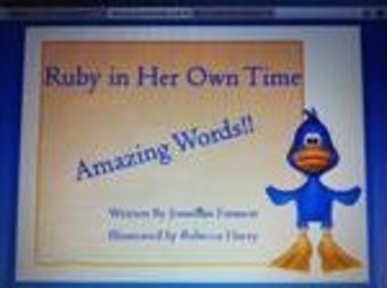 Amazing Words Ruby in Her Own Time