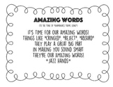Amazing Words Song - Reading Street