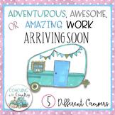 Amazing Work Arriving Soon-Vintage Campers