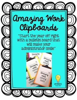 Amazing Work Clipboards