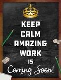 Amazing Work Coming Soon!