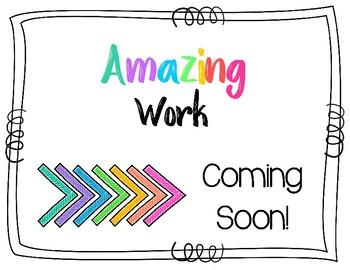 Amazing Work Coming Soon.