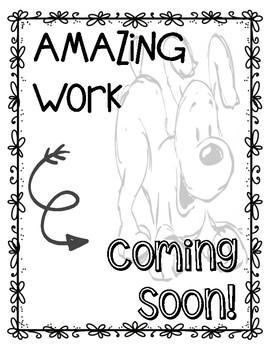 Amazing Work Coming Soon - Dog Theme
