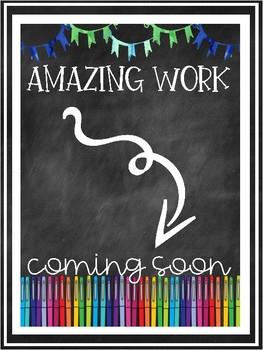 Amazing Work Coming Soon FREEBIE