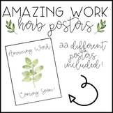 Amazing Work Coming Soon - Farmhouse Herb Posters
