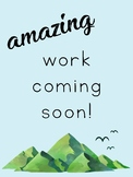 Amazing Work Coming Soon Posters - Mountain Themed