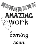 Amazing Work Coming Soon Sign