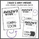 Amazing Work Coming Soon Sign {EDITABLE}
