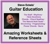 Amazing Worksheets & Reference Charts for Guitar