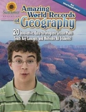 Amazing World Records of Geography—20 Innovative, Easy-to-