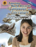 Amazing World Records of Language and Literature—20 Lesson Plans