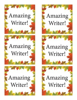 Amazing Writer Validations FREE!!