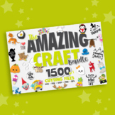 Amazing craft collection 1500 graphics svg files, quotes,