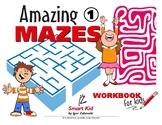 Amazing mazes vol. 1 activity workbook for children