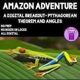 Amazon Adventure Digital Escape Breakout Pythagorean Theor