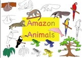 Amazon Animals Clipart - for Commercial and Personal Use