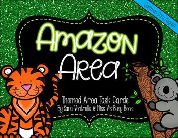 Amazon Area {A Themed Task Card Product}