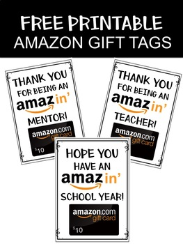photograph regarding Amazon Gift Card Printable titled Amazon Reward Card Worksheets Coaching Components TpT