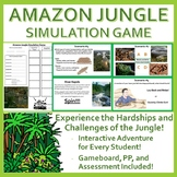 Amazon Jungle Simulation Game