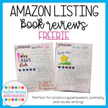 Amazon Listing Book Review FREEBIE