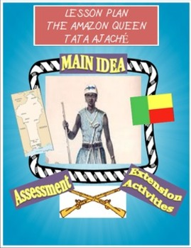 Amazon Queen- Tata Ajache Lesson Plan and Prezi