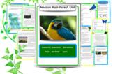 Amazon Rain Forest Unit & Rain Forest Magic Tree House