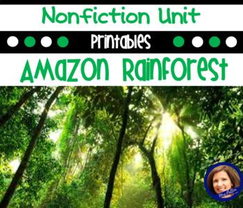 Amazon Rainforest: A Nonfiction Common Core Aligned Unit