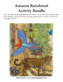Amazon Rainforest Activity Bundle - Downloadable Only