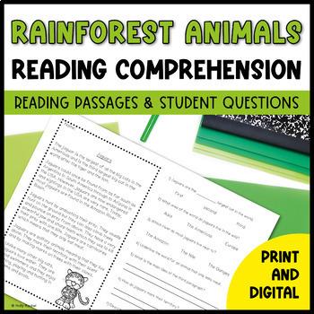 Amazon Rainforest Close Reading