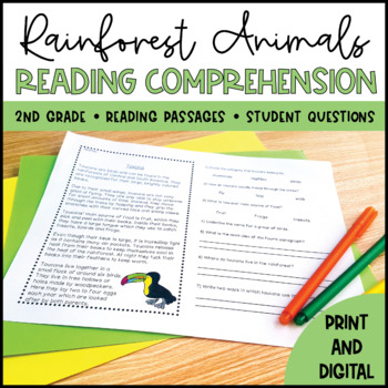 Amazon Rainforest Close Reading