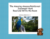 Amazon Rainforest- Read The Room- Grades 4-7